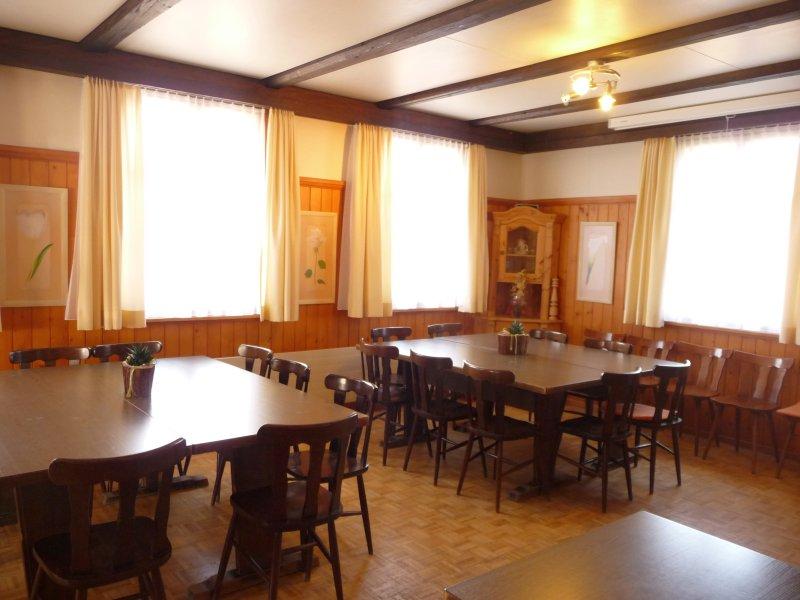 Restaurant Schafli In Wiesen Dreien Toggenburg Sg Saal Im